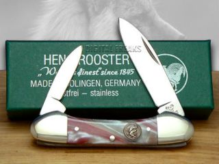 HEN & ROOSTER AND Silver Fox Corelon Butterbean Pocket Knives