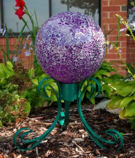 "New Venezia Gazing Ball Stand for 10"" 12"" Globes"
