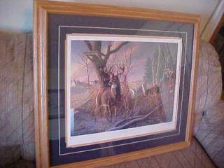 free james meger w bud grant s n deer print
