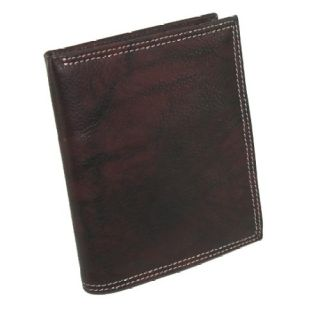 Buxton Mens Leather Credit Card Wallet