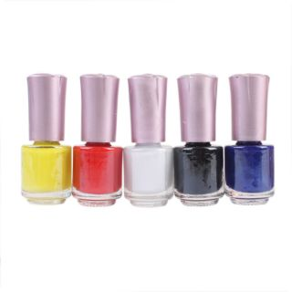 Color Nail Art Stamping Polish Nail Varnish Stamp New