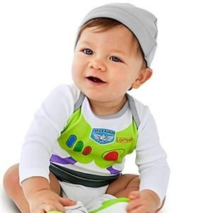 New Toy Story Buzz Lightyear Baby Onesie Costume Infant Bodysuit