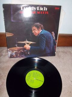 Buddy Rich at Ronnie Scotts RCA Ints 5012 1972
