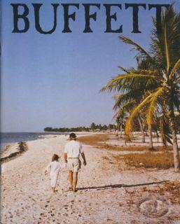 JIMMY BUFFETT 1987 SUMMER TOUR Concert Program Book Programme