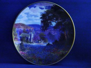 THE LITTLE CHURCH P BYARS PLATE FRANKLIN MINT