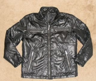 Buffalo David Bitton Womens Jacket Motorcycle Puffer size Medium
