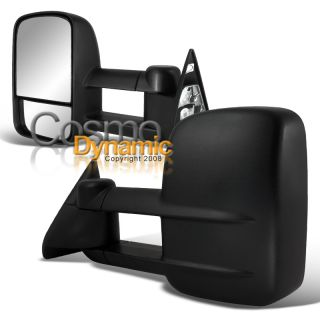 Chevy 88 00 C K 2500 C10 Truck Towing Mirrors Pair Manual