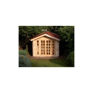 Plans how to build 16x20 garden storage shed cabin guest house for Shed guest house kit