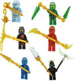 Ninjago Ninja Set Mini Building Toy Mini Figure 6 Style Set