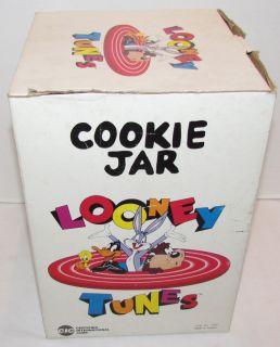 Looney Tunes Bugs Bunny Cookie Jar 1993 Complements CIC