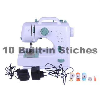 Automatic Portable Sewing Machine Simple Operation, 10 Built in Stitch
