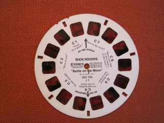 Viewmastervm J1 Buck Rogers Reel C Pictures Have Bleached Pin