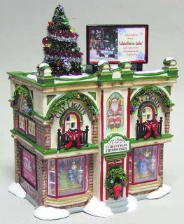 Dept 56 Snow Village City Lights Christmas Trimming