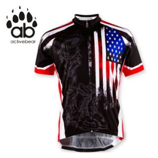 Fallen Warrior Military Cycling Jersey Military Army Marines Navy