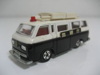 RARE Tomica 67 Nissan Caball Police Car Made in Japan