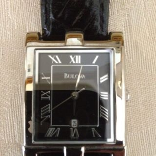 Bulova Mens Wrist Watch