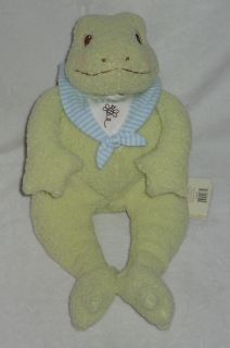 Bunnies by The Bay Tadbit Frog Plush Stuffed Toy