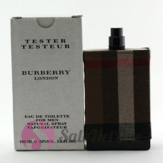 burberry london men 3 3 3 4 edt cologne spray tester welcome to our