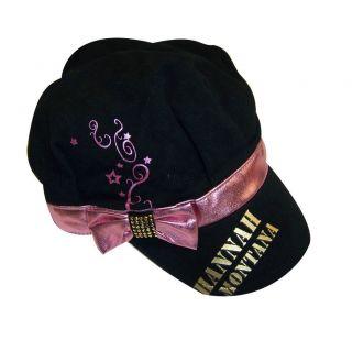 New Kids Girls Hannah Montana Miley Cyrus Cadet Cap Hat