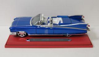 1959 Cadillac El Dorado Diecast Model Car Maisto Allstars 1 18 Scale