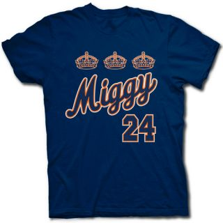 Miguel Cabrera Triple Crown Detroit Jersey T Shirt Tigers Miggy Leads