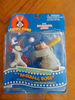LOONEY TUNES BUGS BUNNY AND GAS HOUSE GORILLA in Baseball Bugs