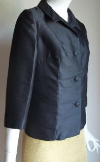 Vintage 60s Mod George Brown Originals California Little Black Silk