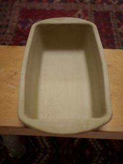 086 Soneware Ceramic Loaf Bread Cake Baking Pan 9 USA Made