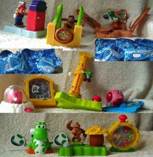 Burger King Nintendo Superstars 10 Toy Complete Set 2002 SEALED Kong