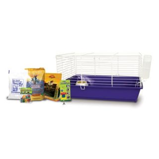 Ware Mfg Home Sweet Home Guinea Pig Cage Starter Kit with SunSeed Food