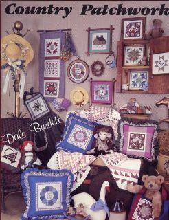 Country Patchwork Dale Burdett Cross Stitch Pattern  30 Days To Shop