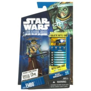 star wars cw33 embo action figure by hasbro embo is a bounty hunter