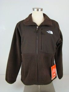 Medium Med The North Face Denali Fleece Jacket Burnette Brown