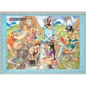 2011 One Piece Comic Calendar Eiichiro Oda Japan New