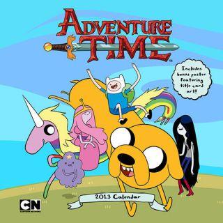 Adventure Time 2013 Wall Calendar