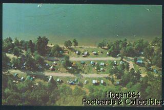 Indian Lake State Park Manistique Michigan Postcard