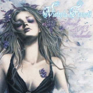 VICTORIA FRANCES official 16 month 2012 2013 Calendar Fantasy Art