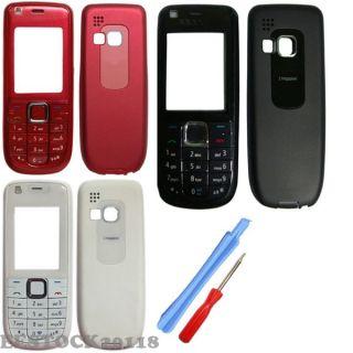 Colors Black Red White Nokia 3120 3120C Fascia Full Housing Case