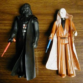 star wars figures made by kenner all marked 1977 great overall