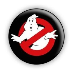 Ghostbusters Movie 1 Pin Button Badge Retro 80s