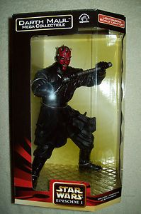 Star Wars EP 1 Darth Maul Mega Collectible 12 Figure with Light Up