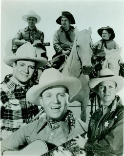 Photo Gene Autry and Friends and Horse