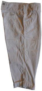 Calvin Klein Jeans Womens Pants Capri New Black White Khaki Cotton