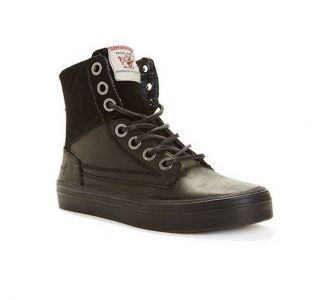 True Religion Brand Jeans Mens Camby High Top Leather Boots Shoes