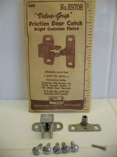 Vtg Amerock Friction Cabinet Door Catch Latch Holder