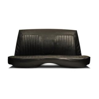 Scat Procar Seat Cover Rear Rally Style Chevy Camaro 1967 69 Black