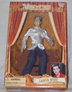nsync marionette lance bass living toyz doll