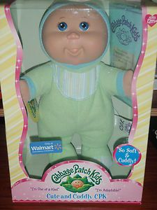 Cabbage Patch Kids Only at  Mistake Doll Boy with Girl Name NIP