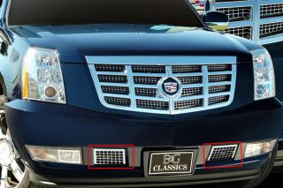 07 12 Cadillac Escalade Tow Hook Cover, Factory Style Truck SUV Grille