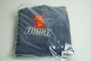New 2011 Scotty Cameron Tour Rat Golf Denim Blue Sweater w/ Hood